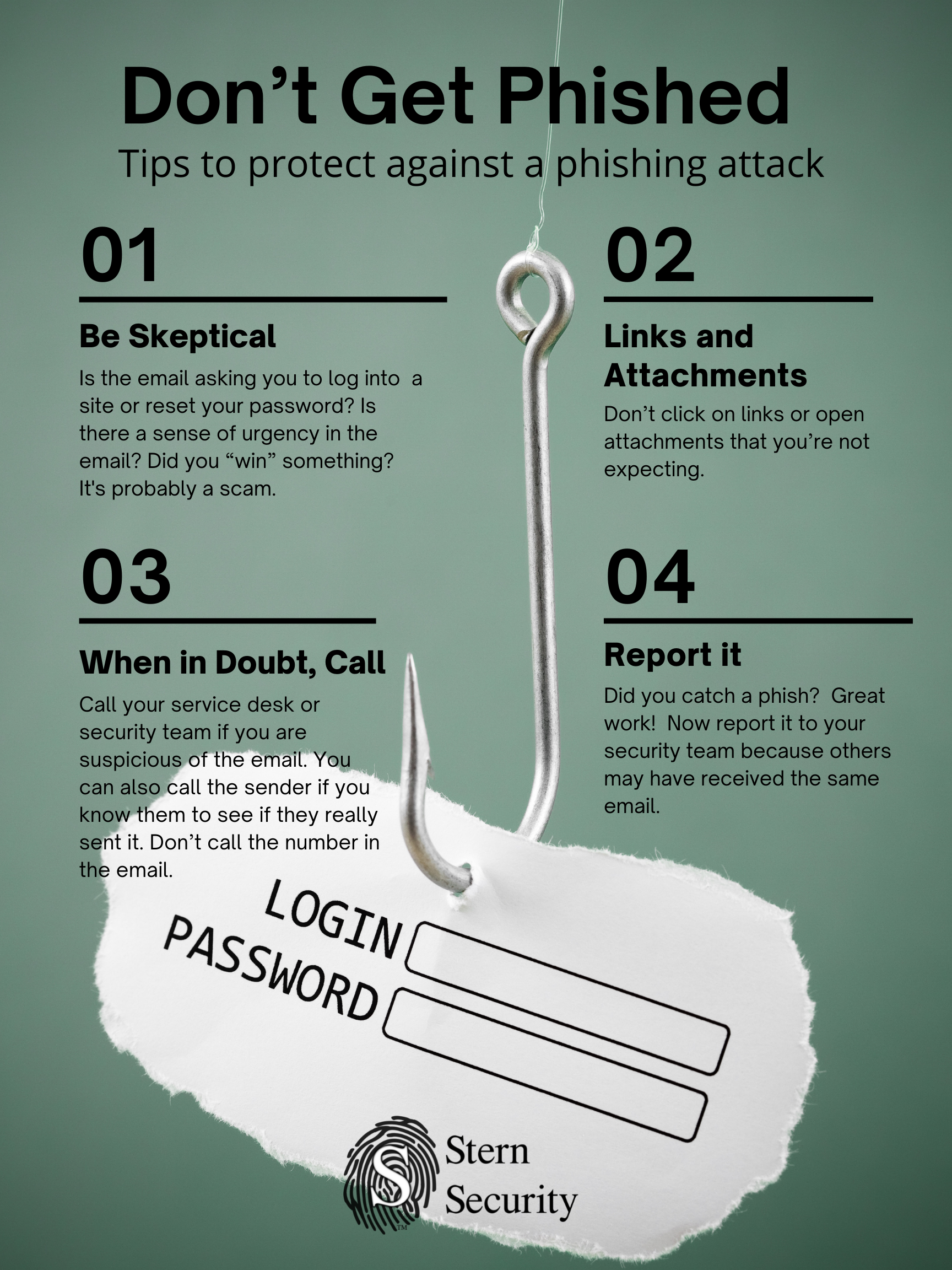Four Phishing Protection Tips from SternSec